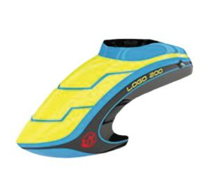 05432 Canopy LOGO 200 neon-yellow/blue/black