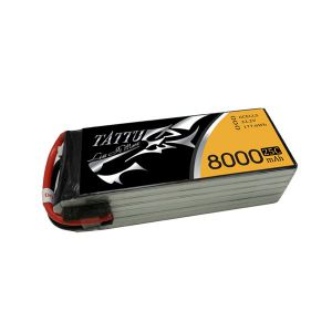 Tattu 8000mAh 22.2V 25C 6S1P Li-po Battery
