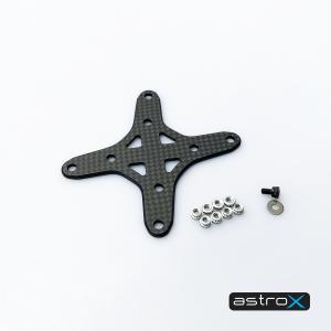 Reinforce X Brass 2mm + Alu6061 hardware set Stretched & Freestyle