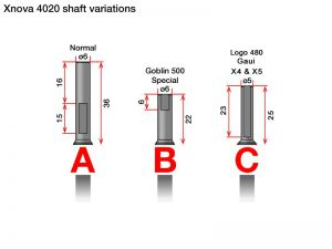 Xnova 4020 shaft C