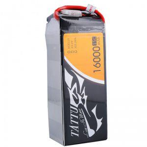 Tattu 16000mAh 15C 6S1P Lipo Battery Pack