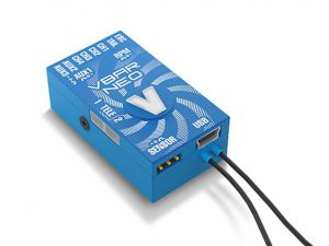 VBar NEO Alu-case, blue, VLink 6.x Express
