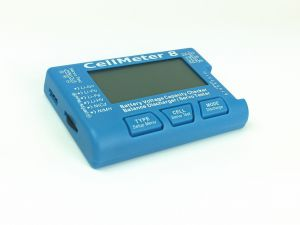 Digital Battery Capacity Checker Tester CellMeter 8 Lipo Battery Discharger Balancer RC Servo Tester