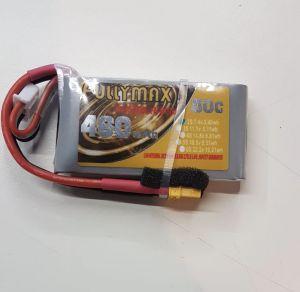 Fullymax 460mAh 2S 7.4v 80C FPV LiPo Battery