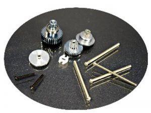 Servo Metal Gears Package  (For DS760 Aluminum upper case )