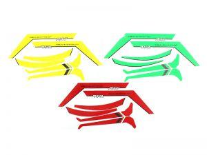 HA085-S RAW STICKER YELLOW/RED/GREEN