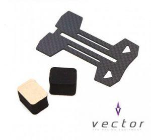 [Vector] VX-03 Landing Plate(2.0T Carbon)