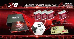 HBL850/HBL880 X8 Combo