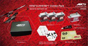 HV93*3+HV9780*1 Combo Pack