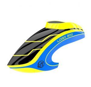 Canopy LOGO 200 black/neon-yellow/blueN