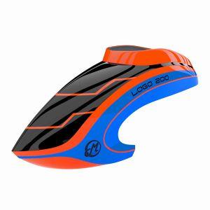 Canopy LOGO 200 neon-orange blue