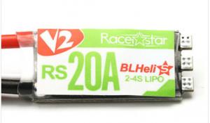 Racerstar RS20A V2 New 20A Blheli_S OPTO 2-4S ESC Support Oneshot42 Multishot 16.5 Dshot600