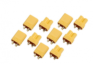 AMASS XT30 Connector Male and Female x5 pairs
