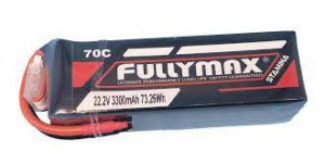 FULLYMAX 3300 MAH LIPO Battery 6S 70c