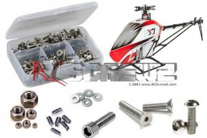 gau011 - Gaui NX7 Heli Stainless Steel Screw Kit