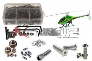 gob001 - Goblin 700/Comp Heli Stainless Steel Screw Kit