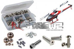 gob004 - Goblin 500 Heli Stainless Steel Screw Kit