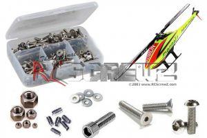 gob007 - Goblin 280 Fireball Heli Stainless Steel Screw Kit