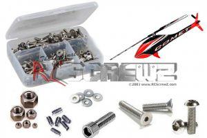 gob008 - Goblin 280 Mini Comet Stainless Steel Screw Kit