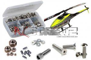 gob010 - Goblin Nitro 650/700 Stainless Steel Screw Kit