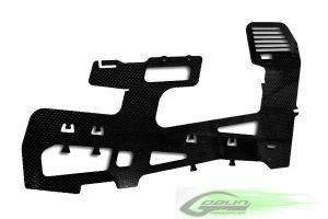 H0102 Thick 2.5mm Carbon fiber frame (1pc) - Goblin 700