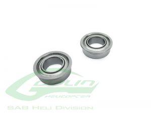 ABEC-5 Flanged bearing Ø7x Ø11 x 3(2pcs) - Goblin 500/570