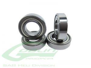 ABEC-5 Bearing Ø4 x Ø9 x 2,5(4pcs) - Goblin 500/570