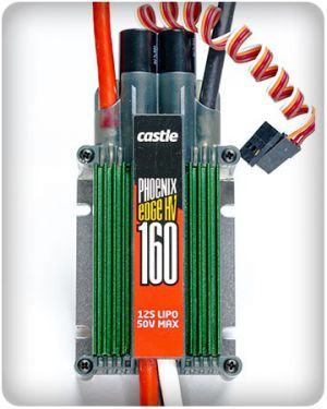Castle Creations Phoenix Edge HV 160 ESC 160A 12S 50V