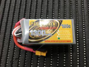 FULLYMAX 1300MAH 6S 100C LIPO BATTERY