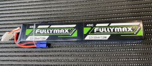 FULLYMAX 12S 3300mAh 44.4V 45-90C Lipo Battery Pack