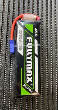 Fullymax 6S 3700mah 45C