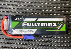 Fullymax 6S 3300mah 45C