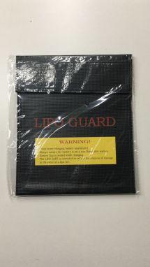 RC Fireproof Lipo Li-Po Battery Safety Guard Charge Bag 180x230mm Black.