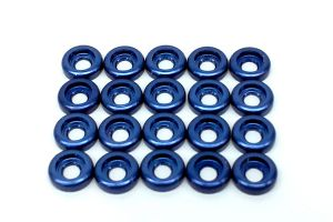 LX0209 - Frame C Washer M2,5 - Blue - 20pcs