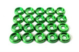 LX0249 - Frame C Washer M2.5 - Green - 20pcs