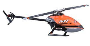 OMP M1 RC Helicopter ORANGE