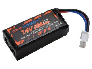 OSHM1024 OMPHOBBY M1 Lithium Battery 7.4V 350mAh 50C