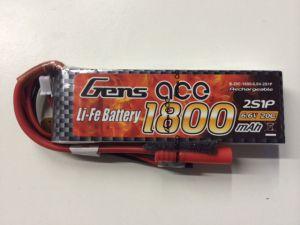 Gens Ace 2S 1800mah 6.6V 20C