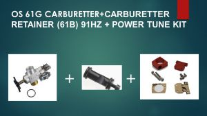 Power tune kit with OS carb for YS engine 120/96/91