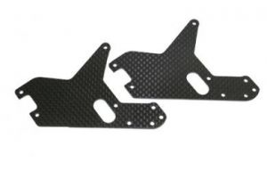 RF50503-2 Carbon Fiber Front Frame Stiffeners (2pcs) - Fusion 50