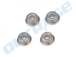 OUTRAGE High Quality Ball Bearing 2 x 5 x2.3mm Flanged in lower mixing arm - Outrage 550/Velocity 50N1/N2/ Fusion 50