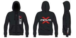 Xnova zipper hoodie XXL