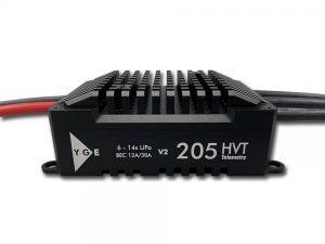 YGE 205 HVT w/ BEC 12-30A Black Edition