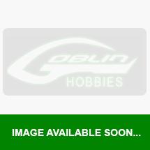 Carbon fiber landing gear - RED (1pc) - Goblin 700